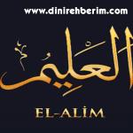 Alîm | el-Alîm
