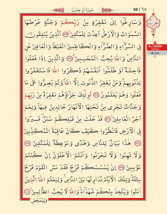 Âl-i İmran Sûresi - 66.Sayfa - 4. Cüzün 2. Hizbi